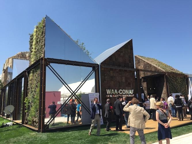 La fattoria del futuro con il conaf ad expo 2015 for Planimetrie personalizzate della fattoria