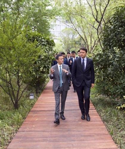 Renzi da Alibaba, accordo per tutelare eccellenze Made in Italy