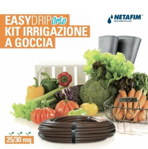 Netafim porta su amazon i suoi kit giardino e orto for Netafim irrigazione
