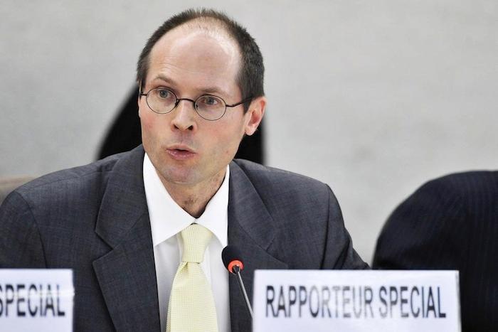 Olivier de shutter, relatore speciale per il diritto al cibo delle