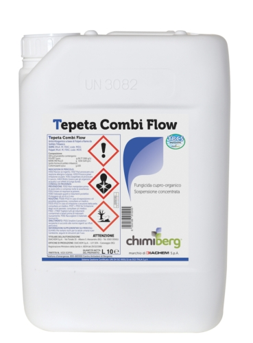 Tepeta Combi Flow, il fungicida antiperonosporico di Chimiberg