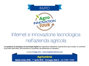 AgroInnovation Tour parte dal cuore dell'Italia