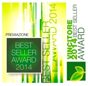 Best Seller Award 2014, trionfo del made in Italy