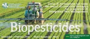 Biopesticides, corso di formazione