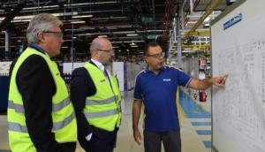 New Holland, visita agli stabilimenti del presidente della Regione Emilia Romagna