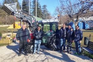 Sisma del Centro Italia: Same dona tre trattori