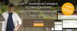 QdC<sup>&reg;</sup> - Quaderno di Campagna: corso gratuito