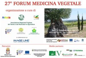 27° Forum di medicina vegetale: quale futuro per la protezione delle piante?