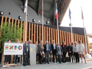 Sostenibilità, a Expo premiato il padiglione New Holland