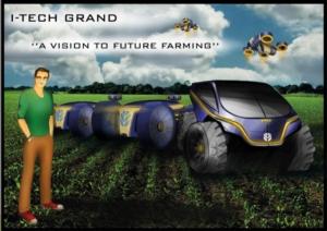Morfo ruote, droni e tractrobot: il futuro di New Holland a Expo 2015