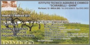 """Image Line al convegno """"Nuove emergenze fitopatologiche riguardanti le piante"""""""