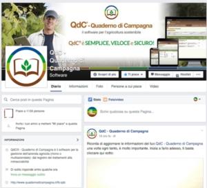 La nuova pagina Facebook di QdC® - Quaderno di Campagna