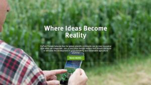 Open Innovation, il sito web lanciato da DuPont Pioneer