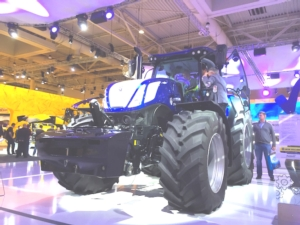 Il T7 Heavy Duty New Holland da vicino