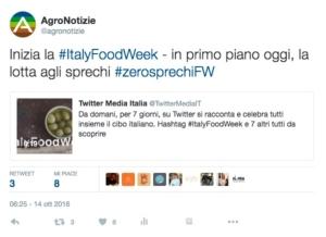 twitter-italyfoodweek-agronotizie-ottobre-2016