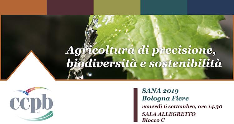 Agricoltura di precisione, biodiversità e sostenibilità