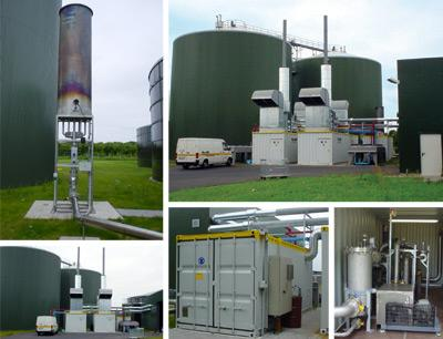 Biogas-impianto