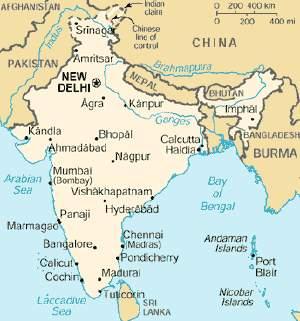 Cartina India.De Castro Missione In India Agronotizie Economia E Politica