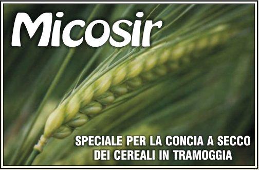 Per la concia a secco dei cereali oggi c'è Micosir