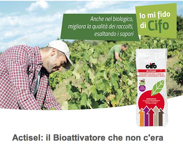 Actisel, molti vantaggi in un solo prodotto - le news di Fertilgest sui fertilizzanti