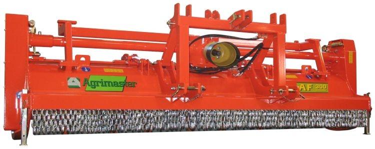 Nuova da Agrimaster, trinciatrice forestale AF 300