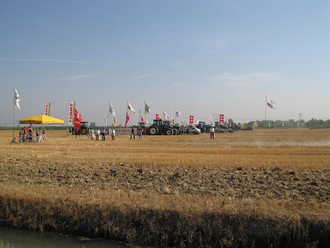 Agricoltura sostenibile, dimostrazioni in campo
