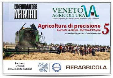 Appuntamento in campo con l'agricoltura di precisione