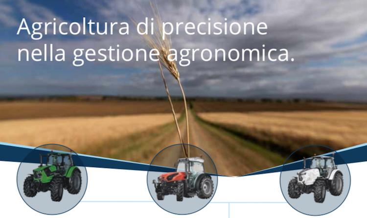 Si torna in campo con il precision farming