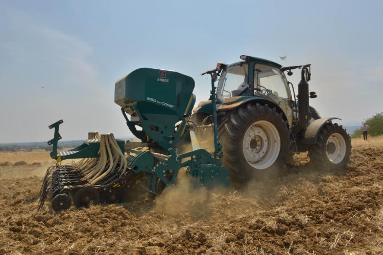 Cereali, pronti alla semina con le macchine Arbos