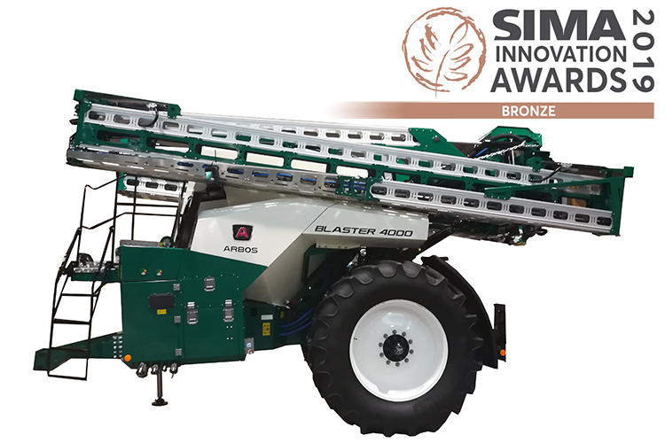 Arbos Blaster, terza sul podio al Sima Innovation Awards 2019