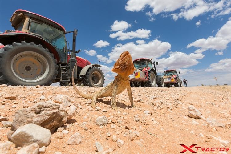 McCormick, alla meta X Tractor around the world