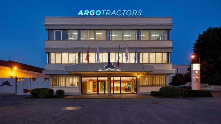 Argo Tractors, work sweet work