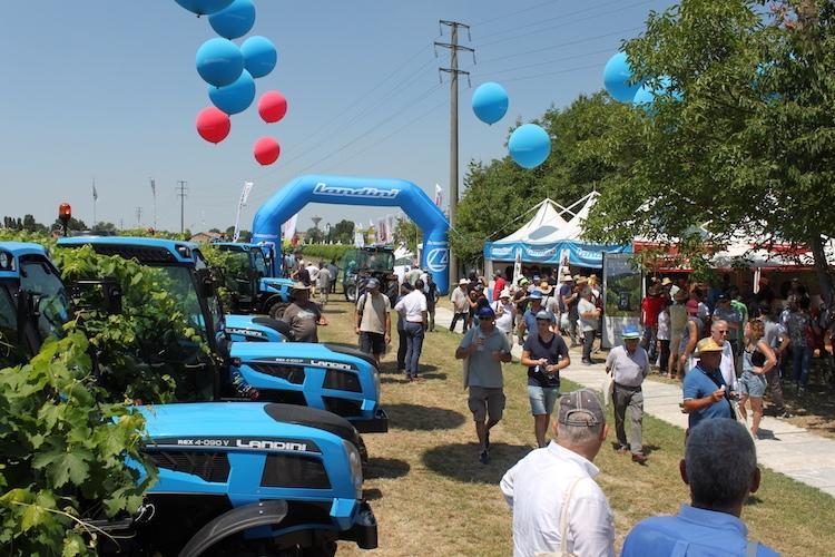 Argo Tractors, doppietta a Enovitis in campo 2018