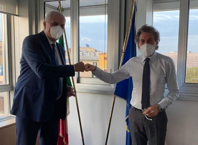 assessore-nicola-caputo-e-direttore-agea-gabriele-papa-pagliardini-11-nov-2020-regione-campania