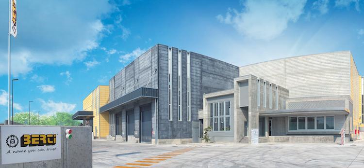 Berti: inaugurato il nuovo stabilimento 4.0