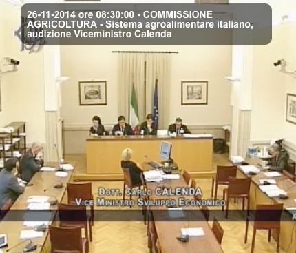 Ttip sistema agroalimentare italiano audizione di for Web tv camera deputati