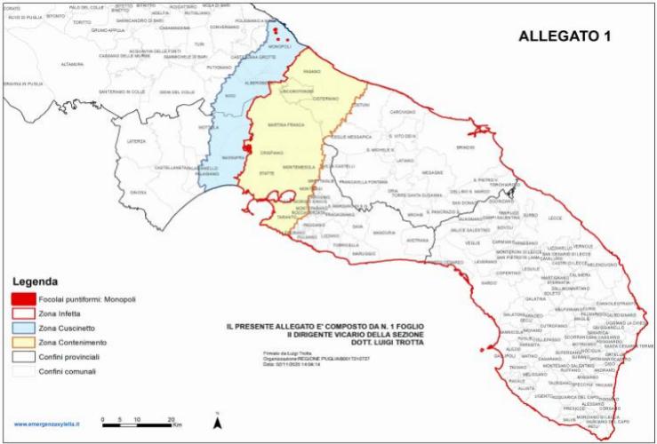 cartografia-area-demarcata-xylella-fastidiosa-puglia-20201117-fonte-osservatorio-fitosanitario-regione-puglia