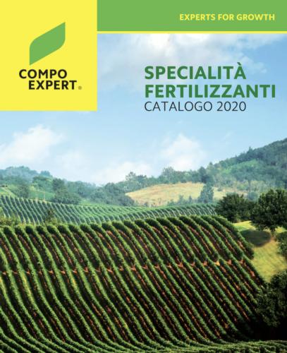 Compo Expert Italia presenta il nuovo catalogo - le news di Fertilgest sui fertilizzanti