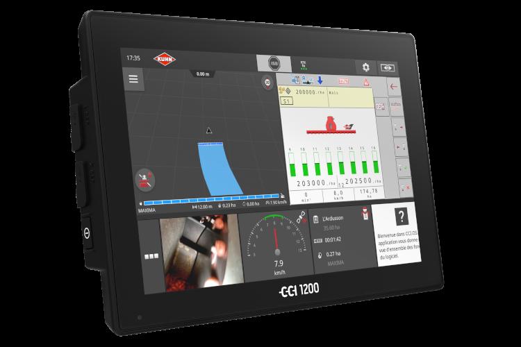 Nuovo CCI 1200 Isobus di KUHN: precisione e controllo