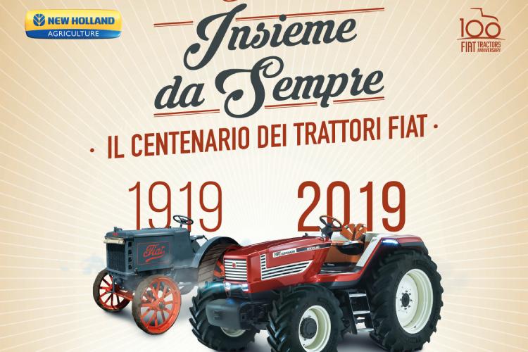 FIAT Trattori compie un secolo: tre eventi per celebrarlo