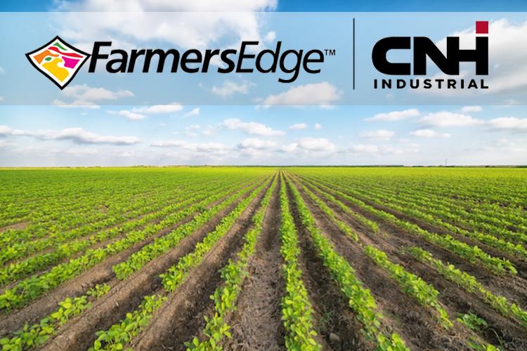 CNH Industrial e Farmers Edge insieme per la digitalizzazione dell'agricoltura