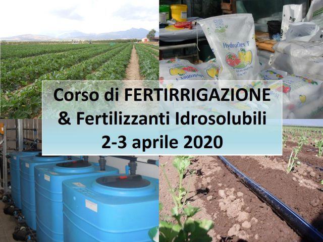 ANNULLATO - Fertirrigazione, fertilizzanti idrosolubili semplici e NPK - le news di Fertilgest sui fertilizzanti
