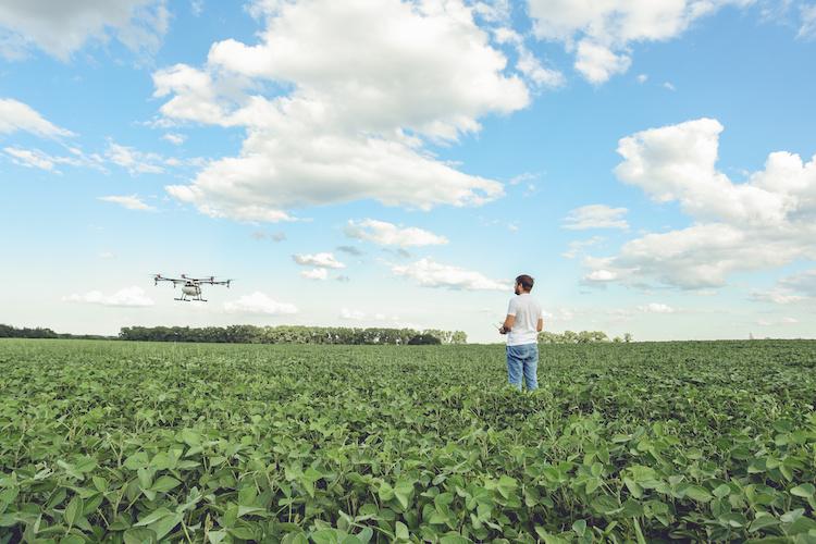 drone-agricoltura-di-precisione-smart-agriculture-by-belyjmishka-adobe-stock-750x500