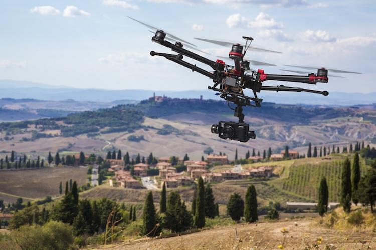 Sarà il drone il nuovo 'trattore' dell'azienda agricola?