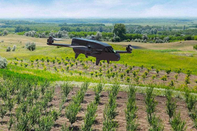Sempre più droni a sorvegliare i campi