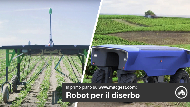 Robot, piccoli eroi nel diserbo