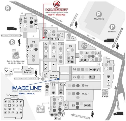 Image Line a #eima2016: AgroInnovation Tour, Macgest, QdC® - Quaderno di Campagna...