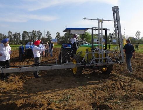 """Le macchine agricole italiane """"fanno il pieno"""" in India"""