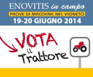 """""""Vota il trattore"""" a Enovitis in campo"""