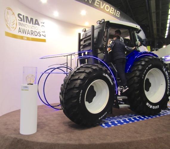 Michelin debutta al Sima con Evobib